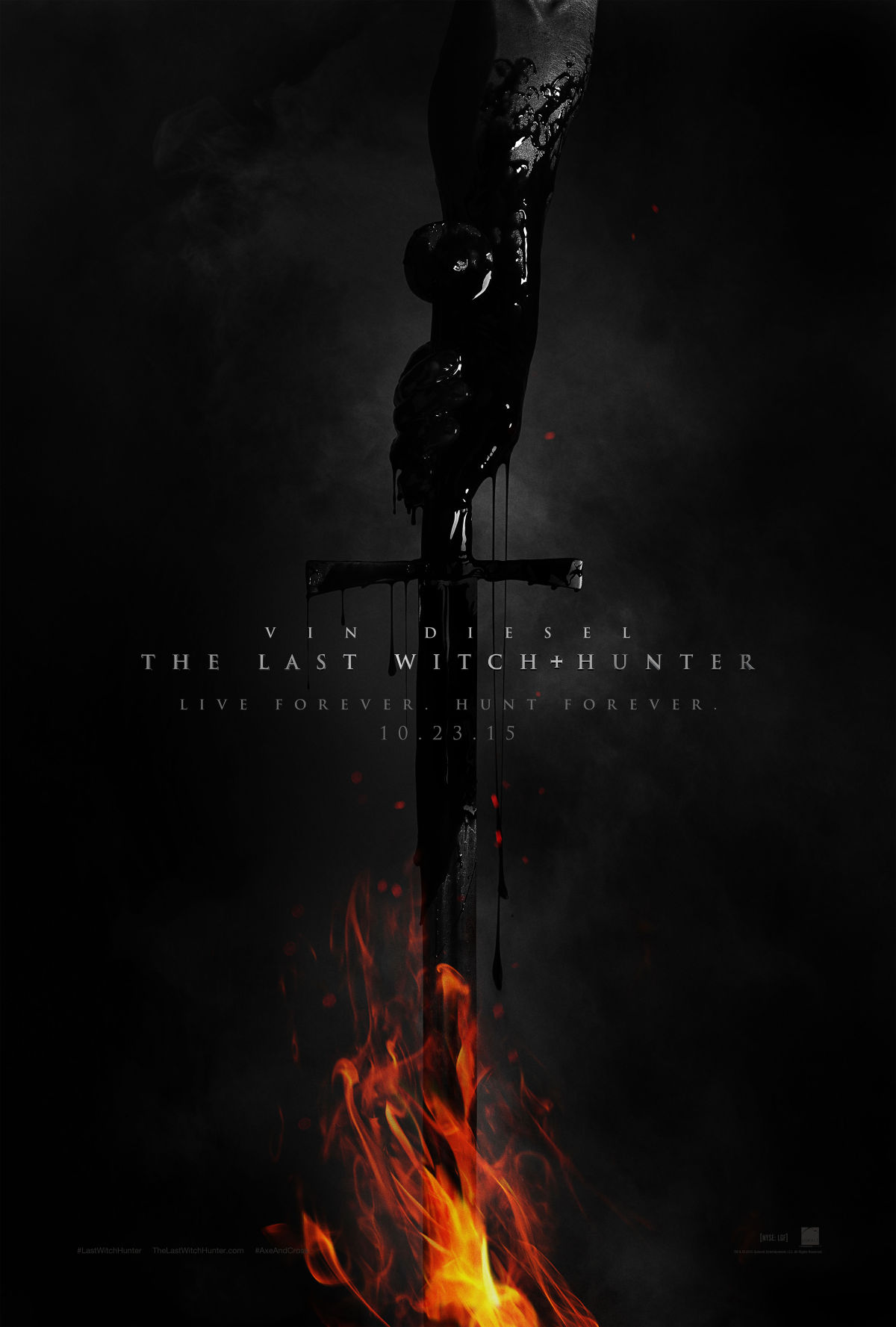 Last Witch Hunter - Poster