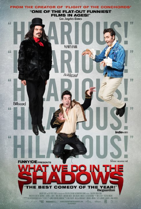 What We Do In The Shadows - Poster