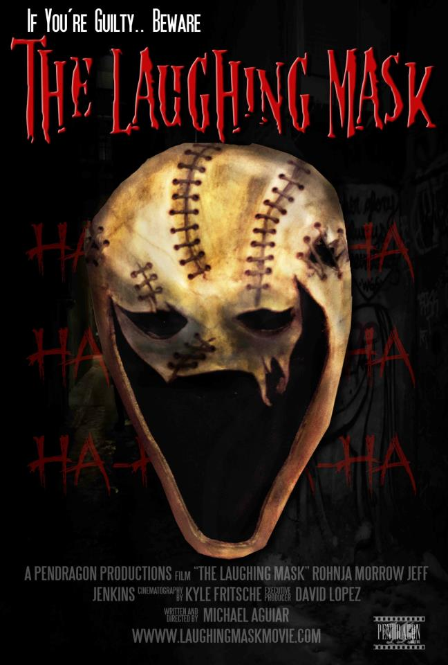 Laughing mask poster