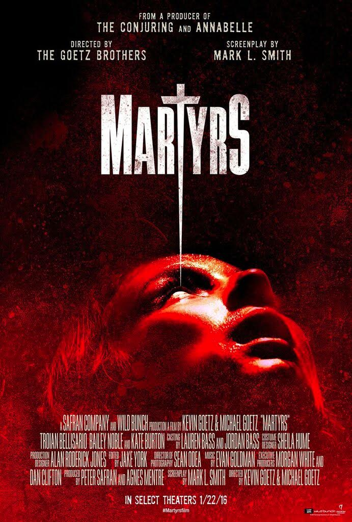 Martyrs poster 2016