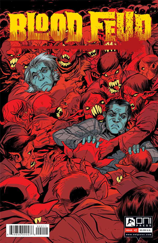 Blood Feud - Cover 2