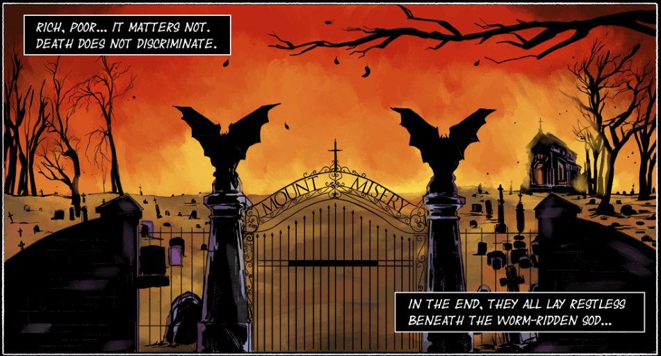 The Gates of Misery-Panel 1