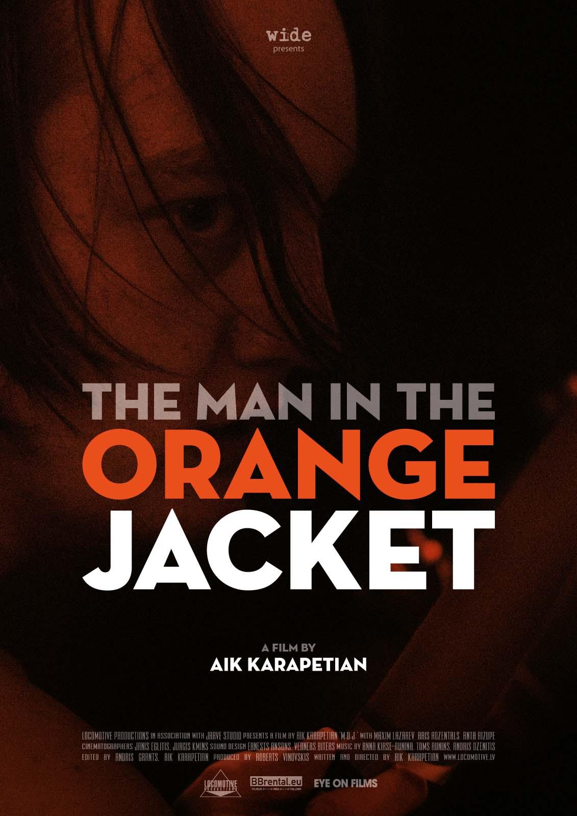 Man in the Orange Jacket Poster