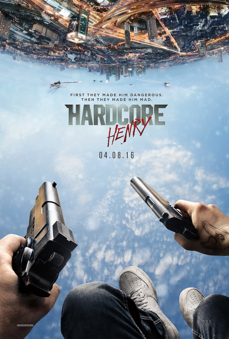 hardcore henry poster