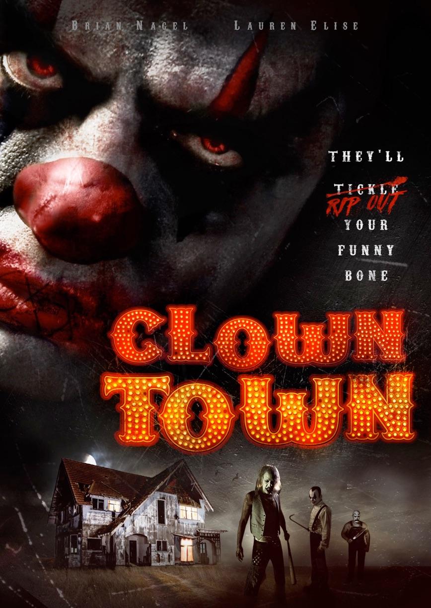Clown Town poster draft 2