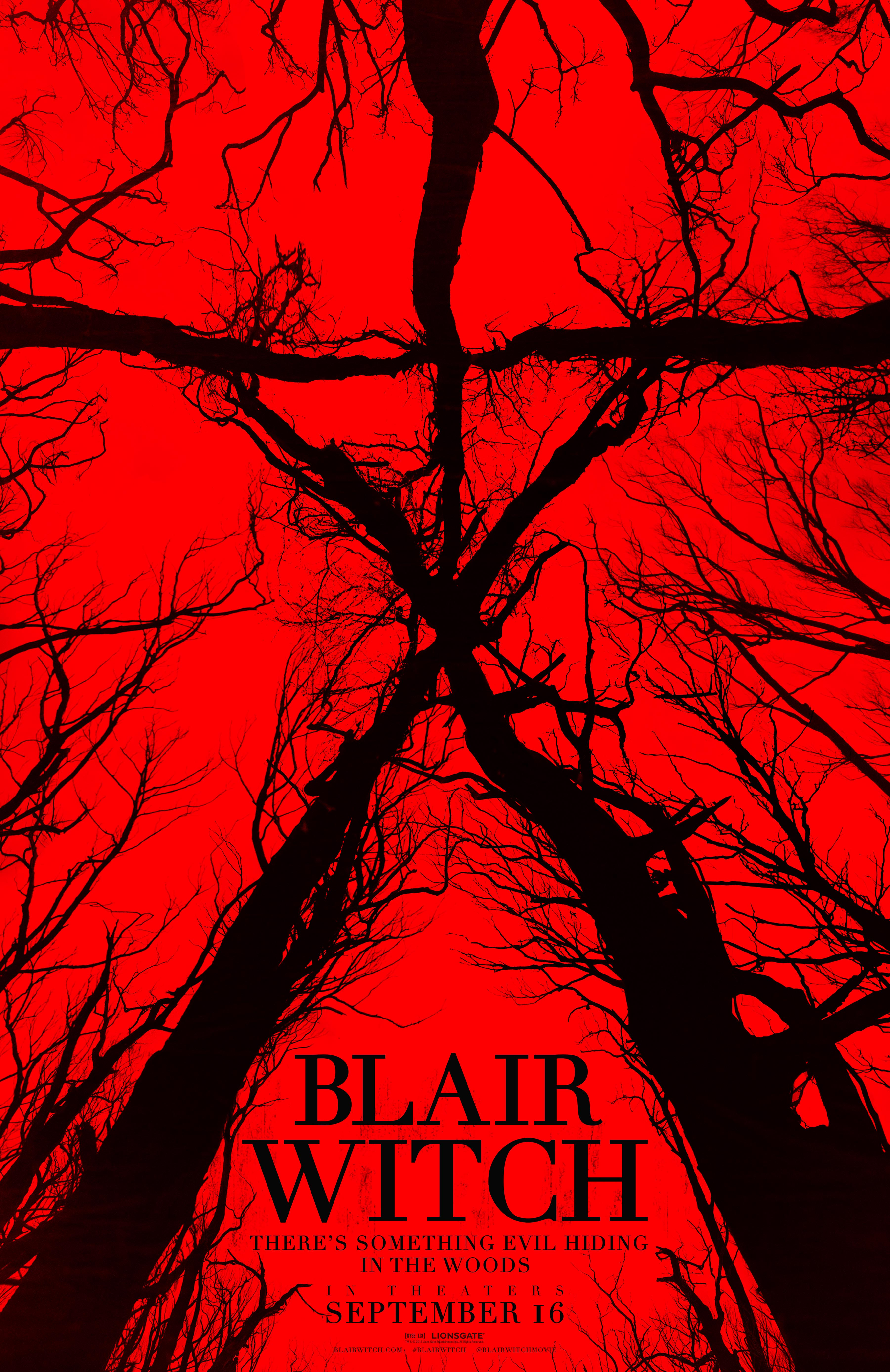 Official Blair Witch Poster