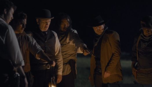 Cowboy criminals clash with a coven of conjurers in 'The Pale Door'