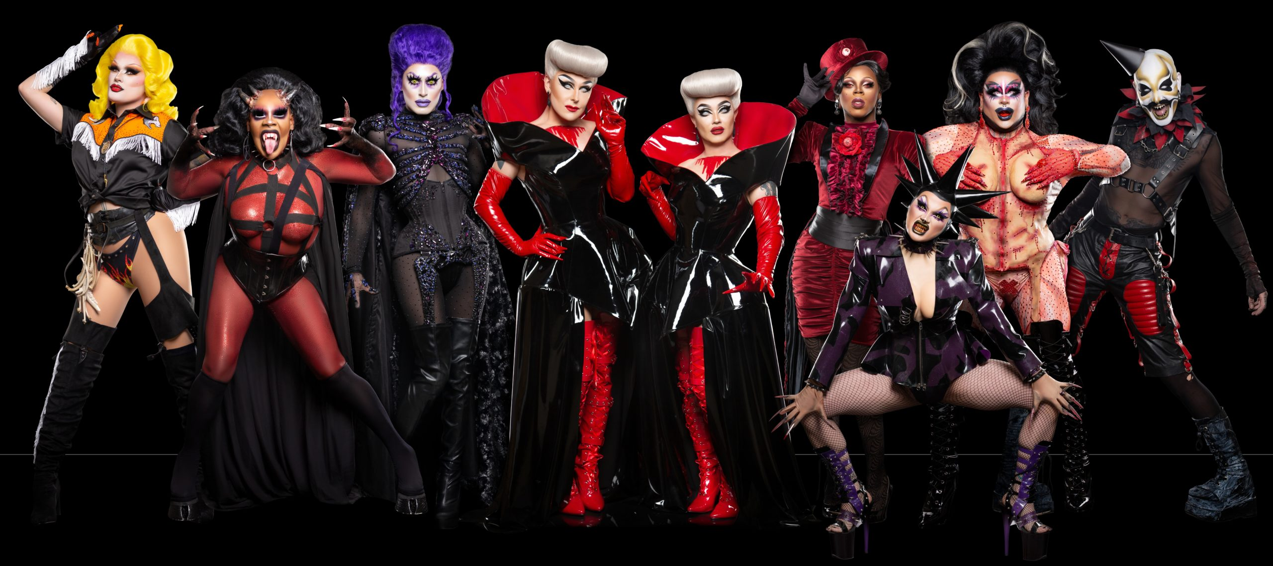 The Boulet Brothers and the cast of Dragula: Resurrection
